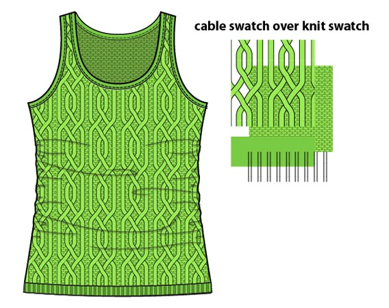 how to make draw knit sweater