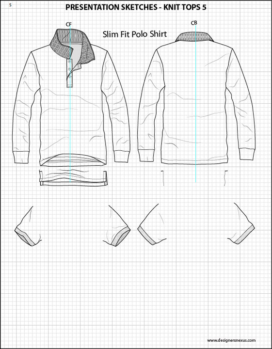 Mens Flat Fashion Sketch Templates , My Practical Skills
