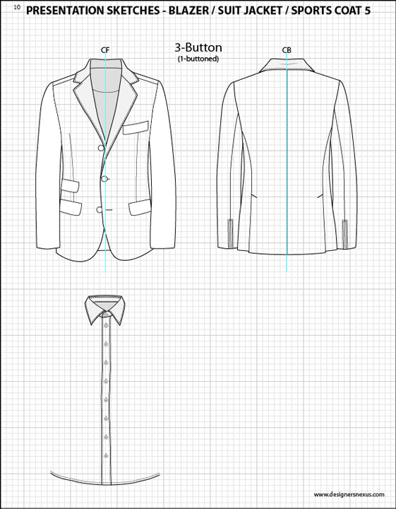 Mens Flat Fashion Sketch Templates on fashion rendering